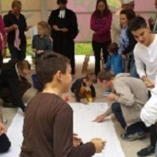 Kinderfeier im Zelt der Religionen (2)