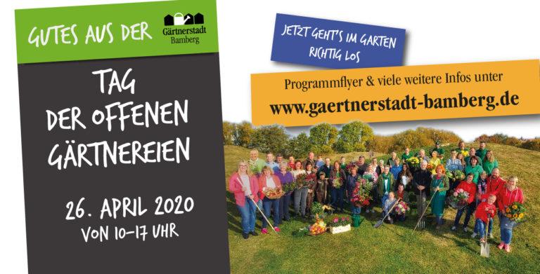 Read more about the article ABGESAGT: Tag der offenen Gärtnereien – Sonntag 26. April 2020