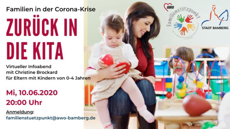 """Read more about the article Virtueller Eltern-Info-Abend – """"Zurück in die Kita"""" am 10. Juni"""