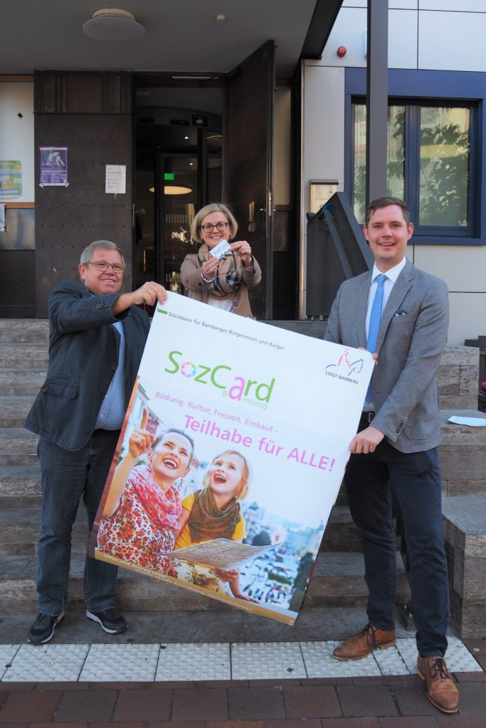 """Read more about the article Stadt Bamberg führt """"SozCard"""" ein"""